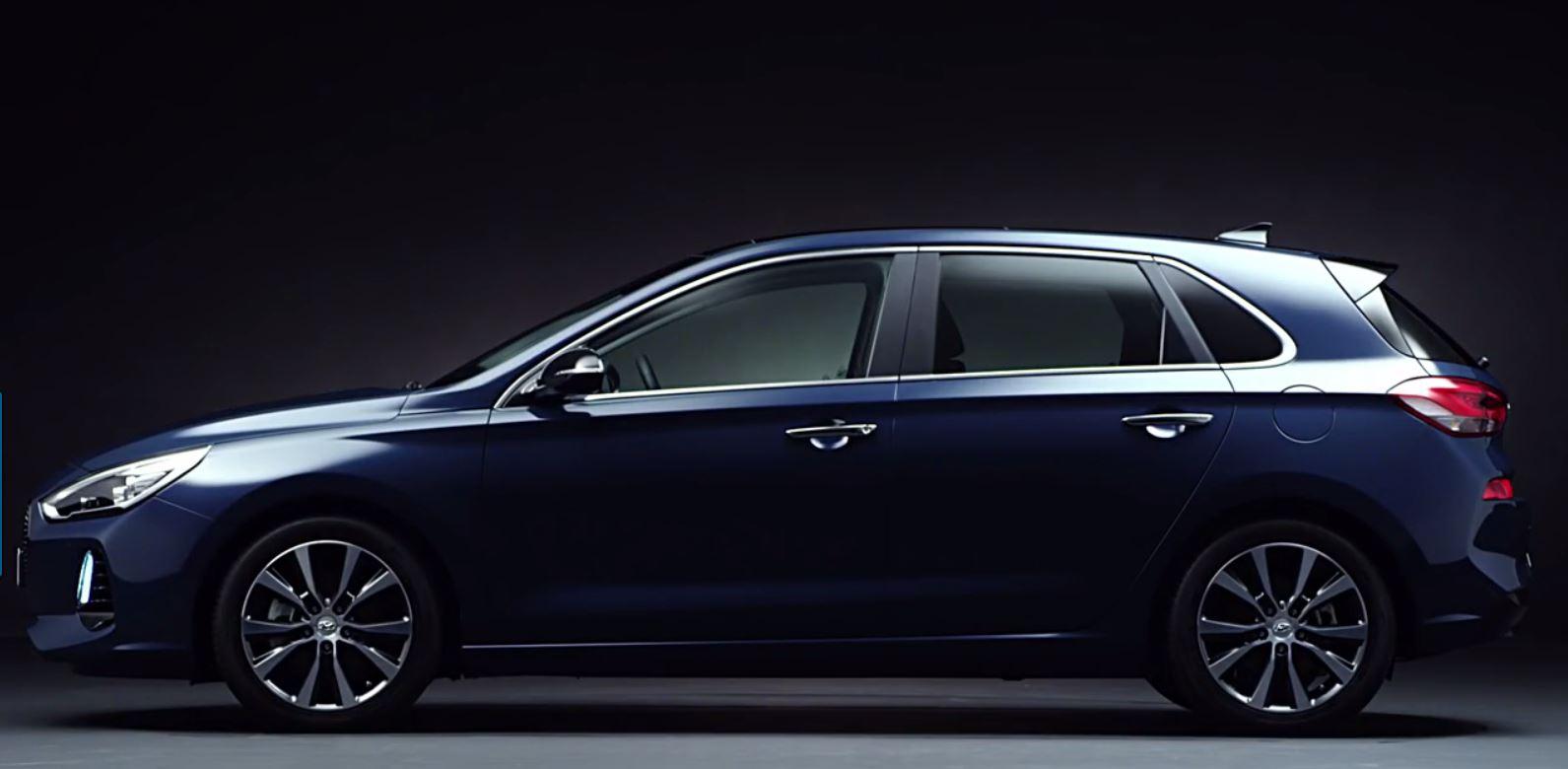تیزر مدل جدید هیوندای i30