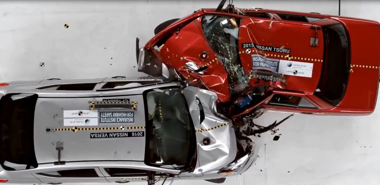 ضعیف ترین خودروهای دنیا در تست تصادف را ببینید