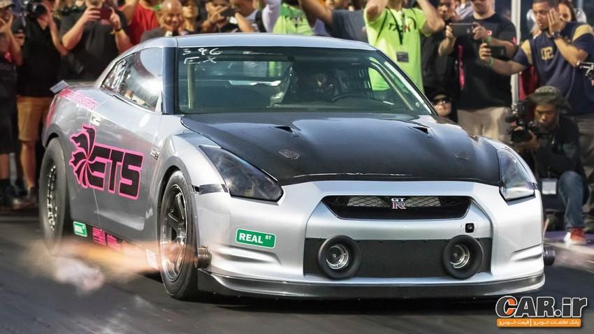 وقتی نیسان GT-R روی داینوها را کم می کند،قوی ترین GT-R