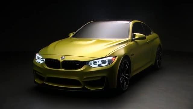تیزر رسمی BMW M۴ Coupe