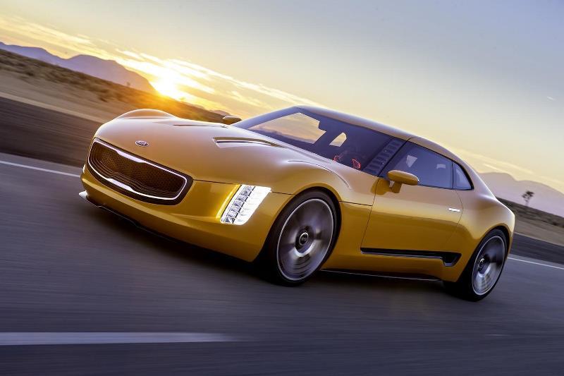 کیا GT4، خودروی رویایی کمپانی کیا