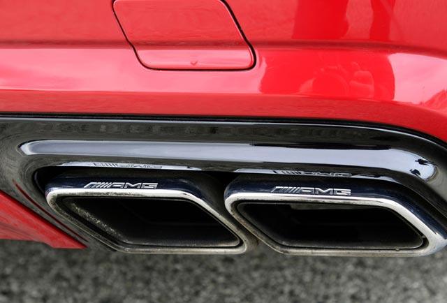 صدای اگزوز مرسدس AMG GT یا غرش شیر