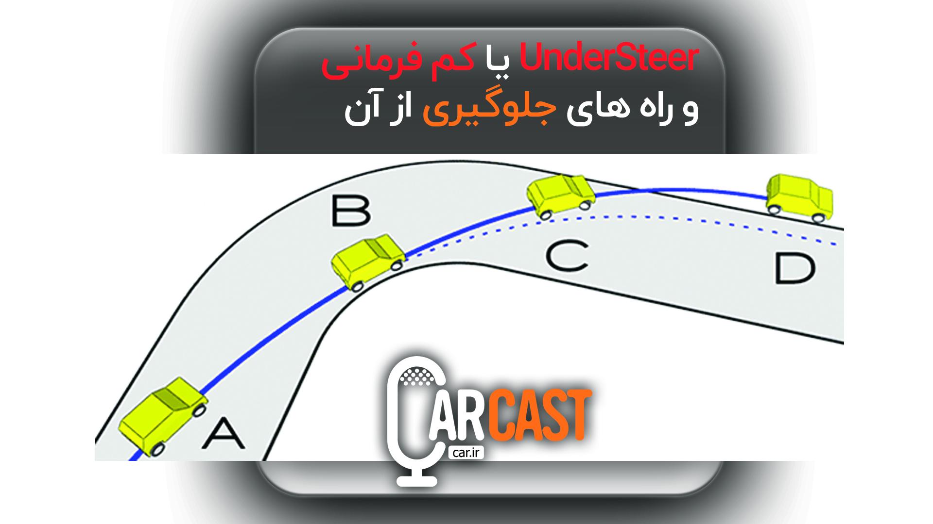 کارکست شماره 7: UnderSteer / کم فرمانی