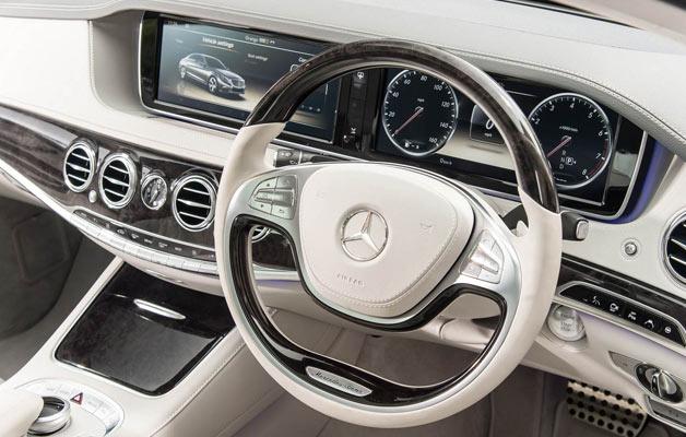 نمای داخلی مرسدس S500 مدل 2014