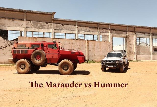 مارودر(Marauder) در مقابل هامر(Hummer)